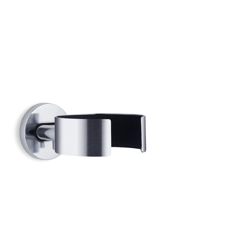 Blomus Areo Stainless Steel Hairdryer Holder, Matte 68840