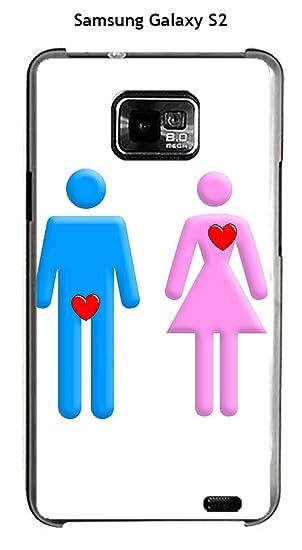 Onozo Carcasa Samsung Galaxy S2 diseño o est el amor sin ...