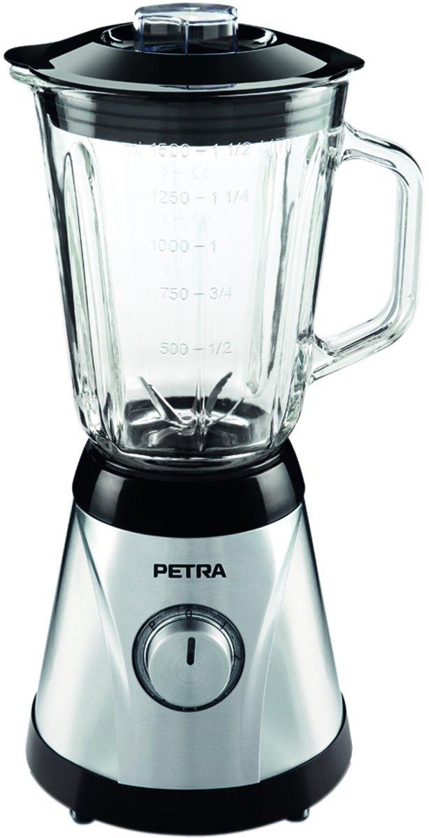 Petra MX 15.35 - Licuadora (Vidrio, Acero inoxidable, Acero inoxidable, 230V): Amazon.es: Hogar