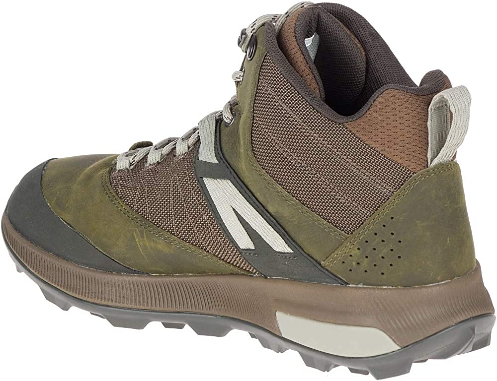 Merrell Zion Mid Waterproof Hiking Shoe Mens
