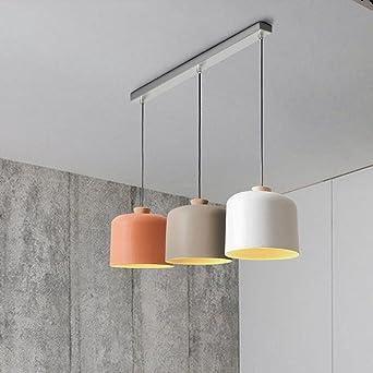 Modern Design Minimalistisch Pendelleuchte Elegant 3 Flammig Aluminium  Metall Höhenverstellbar Hängeleuchte Wohnzimmer Esszimmer Studie Rund