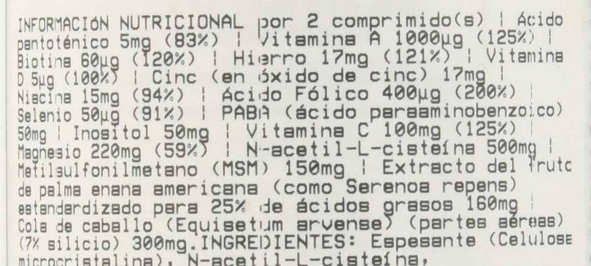 Okygen Sports Hair Complex - 60 Tabletas: Amazon.es: Salud y ...
