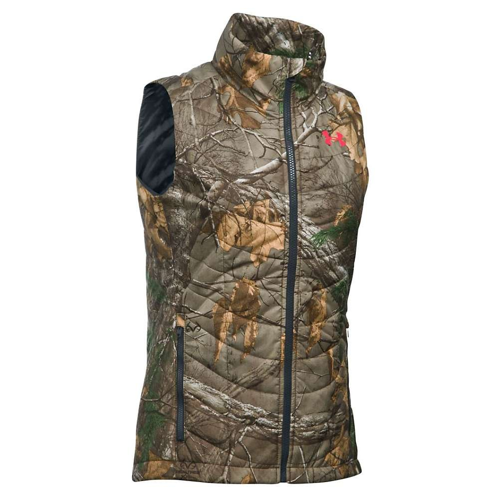 Under Armour Frost Puffer Vest - Women's Realtree Ap-Xtra / Pink Chroma Medium