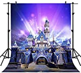 FHZON 5x7ft Dream Castle Photography Backdrop Colorful Sky Backgroung Themed Party YouTube Backdrops Newborn Children Wedding Photo Booth Studio Props GYFH075