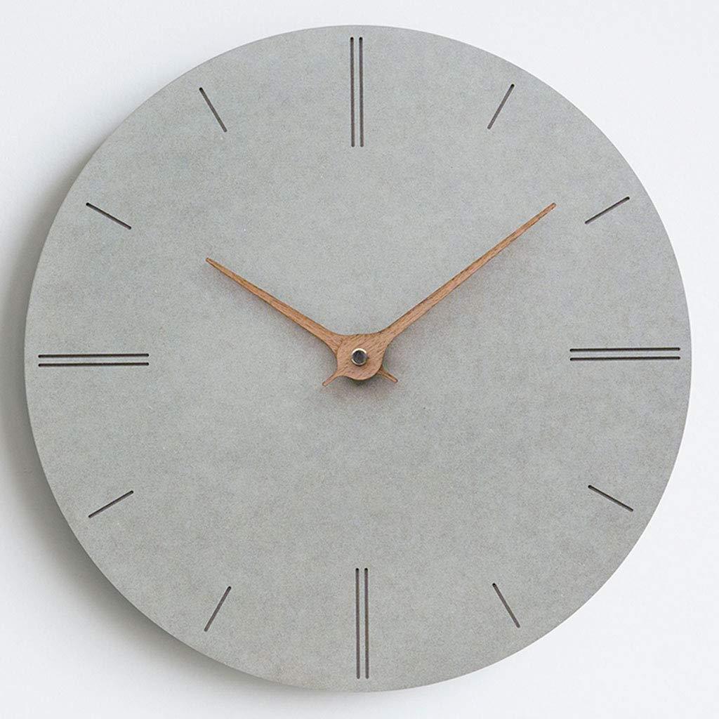 Modern Wooden Wall Clock Nordic Minimalist Home Quartz Clock