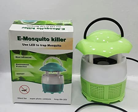 Skyfish Mini Home Mosquito Lamps Fly Killer No Radiation Eletronic Mosquito Catching Machine with Night lamp (Multi Colour)