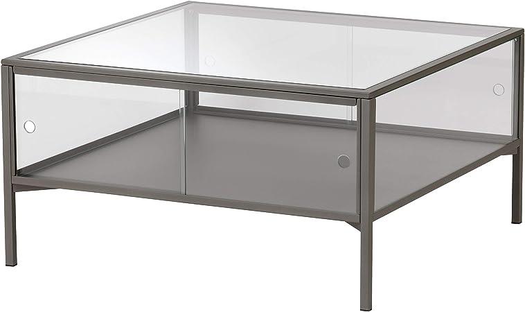 Tavolo Vetro E Acciaio Ikea.Ikea 204 124 44 Sammanhang Tavolino Da Caffe In Vetro Colore