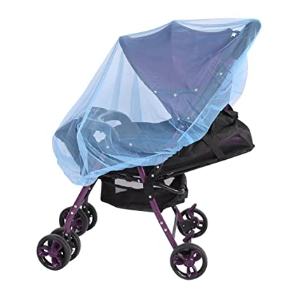 blue color Insect Cover Mosquito net for Pram//Stroller Accessory brand new