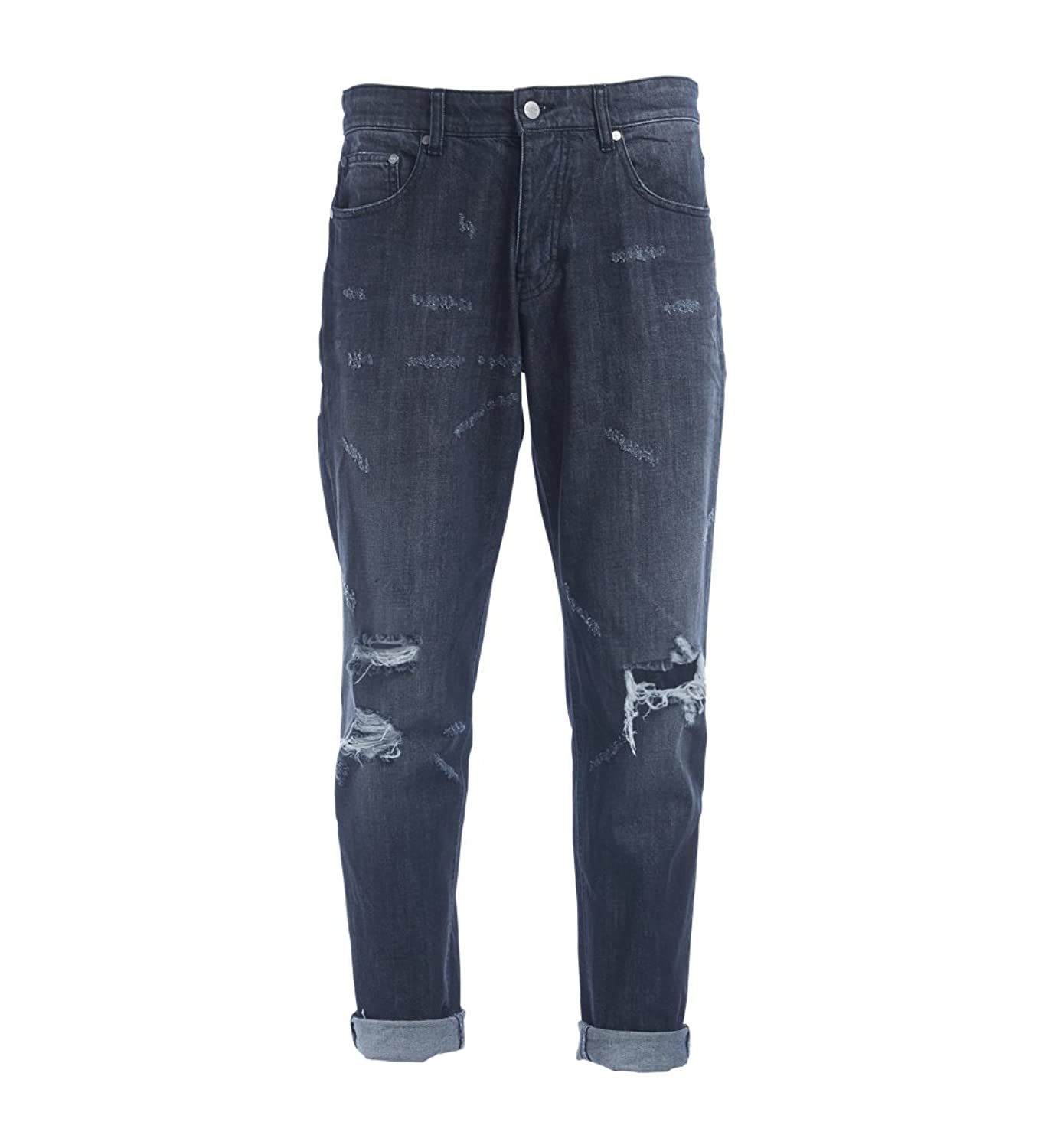 Ami Alexandre Mattiussi washed grey jeans