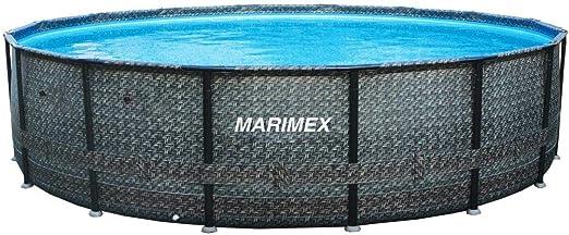 Marimex Florida Piscina Premium Ratan I Piscina de Pared de Acero para jardín I 4, 57x1, 32 m I sin Accesorios: Amazon.es: Jardín