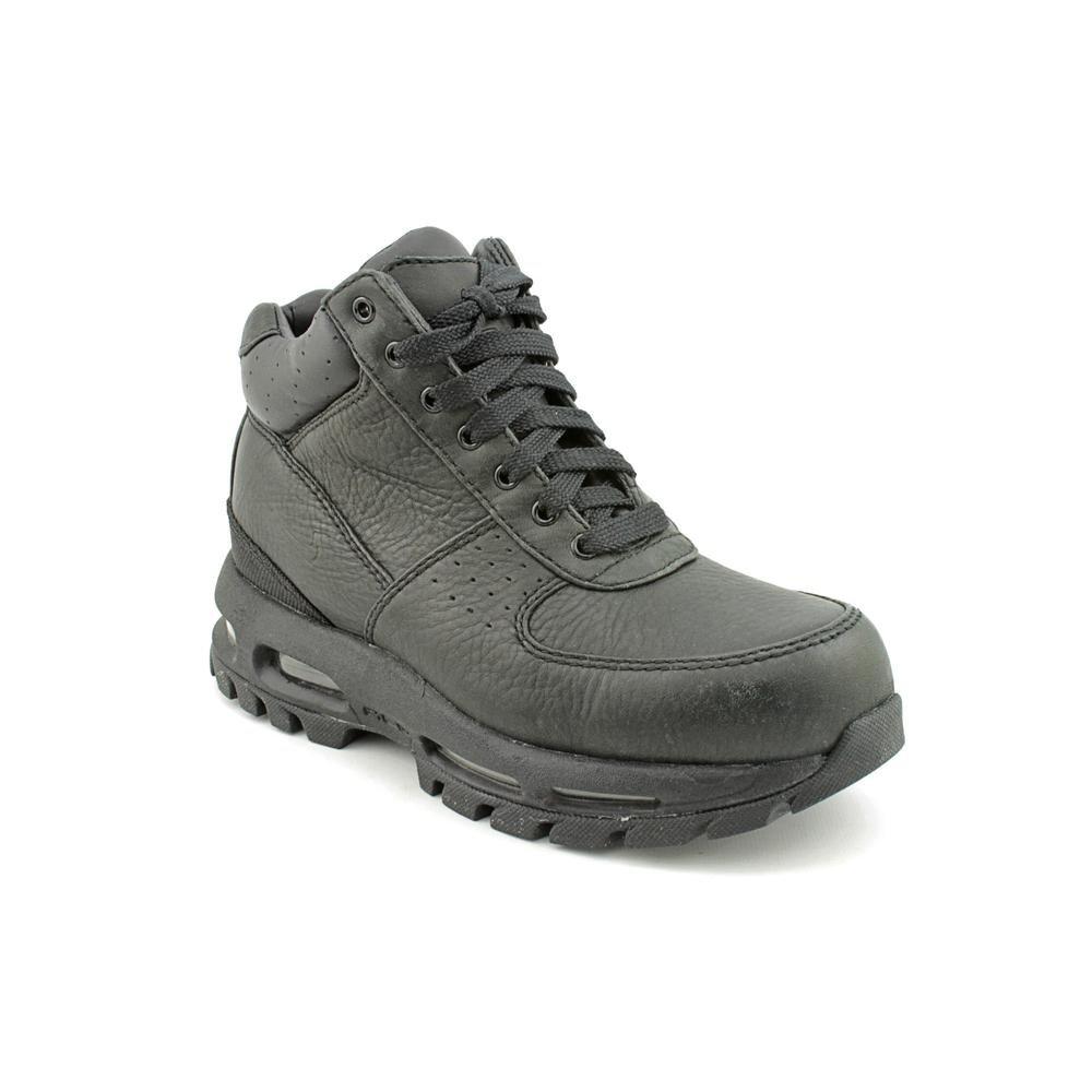 Nike Air Max Goadome (GS) Youth Boys Size 3.5 Black Chukka Boots