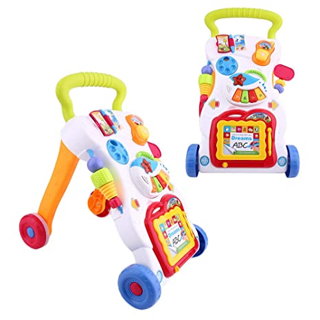 Kitechildhrrd - Andador de juguete (a partir de 6 meses, con ...