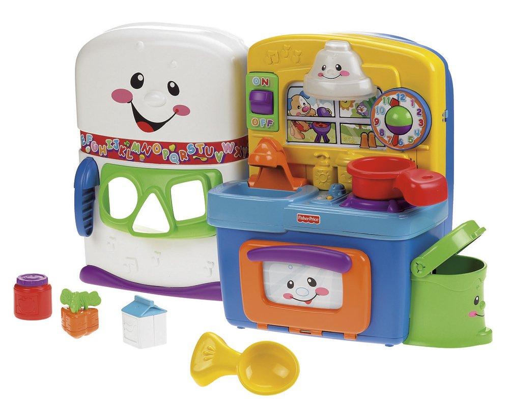 Fisher-Price Mattel T4292 Lernspaß Kompakt Küche: Amazon.de: Spielzeug