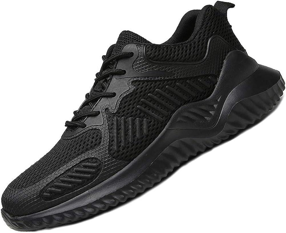 AIXSHOE Zapatillas de Seguridad para Hombre, Calzado Deportivo de ...