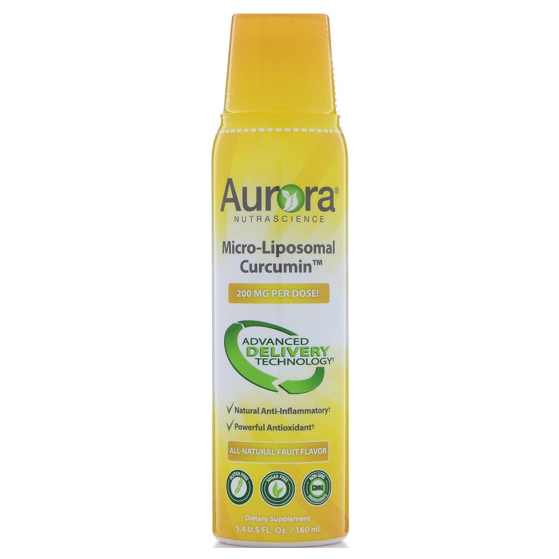 Aurora Nutrascience Mega-Liposomal Curcumin 600 mg Vida Lifescience 16 oz Liquid