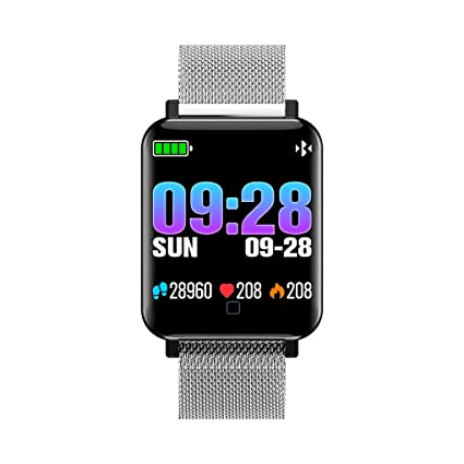 Amazon.com: Four M19 HD Color Screen Smartwatch IP67 ...