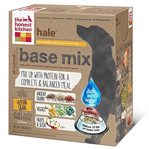 The Honest Kitchen Hale: Whole Grain Base Mix Dog Food, 3 Lb