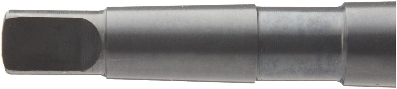 10.50mm Precision Twist 5ATS High Speed Steel Taper Shank Drill Bit Morse Taper Shank Spiral Flute Black Oxide Finish 118 Degree Point Angle