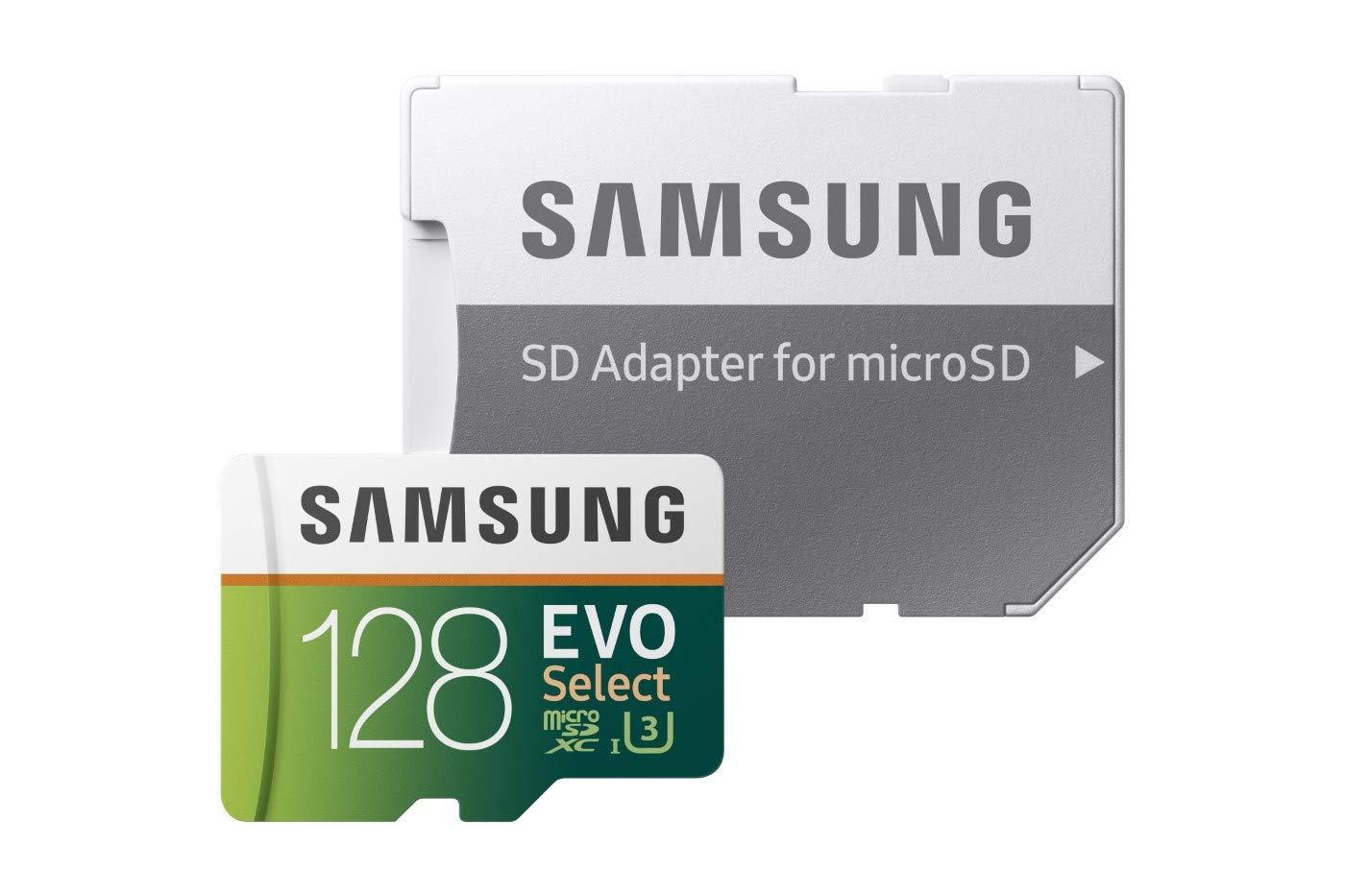 UHS-I hasta 100/MB//s de Lectura 90/MB//s de Escritura Adaptador SD Incluido Samsung mb-mc128ga//EU EVO Plus Tarjeta microSD de 128/GB Clase U3