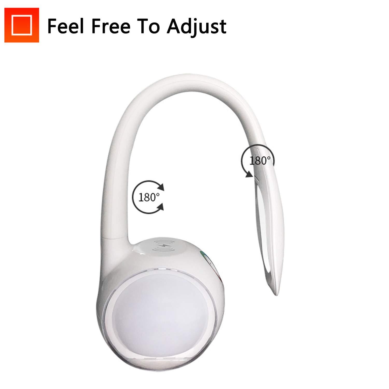 EFGS LED Drehbare und Klappbar Tischlampe Tischlampe Tischlampe mit USB-Anschluss Leselampe 3 Lichtmodi und Helligkeitsstufen Dimmbar, Touch Control Tischleuchte B07PDNZPXF   Schnelle Lieferung  4615e0