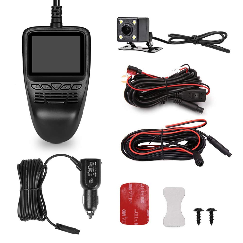 ZYWX-Dash-Cam-Lcd1080p-Car-Hidden-Camera-170--Wide-Angle-Lens-Motion-Detection-Cycle-Recording-WiFi-Module-Night-Vision-and-WDR