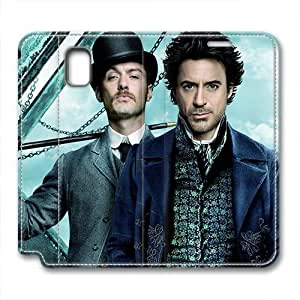 iCustomonline Sherlock Holmes PU Leather Cover for Samsung Galaxy Note 3 by mcsharks