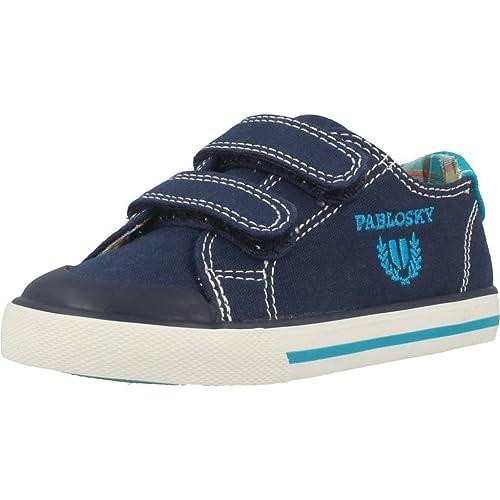 Pablosky 948220, Zapatillas para Niños, Azul, 35 EU