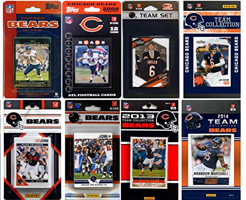 C&I Collectables NFL Chicago Bears Licensed Trading Card Team Set from C&I Collectables