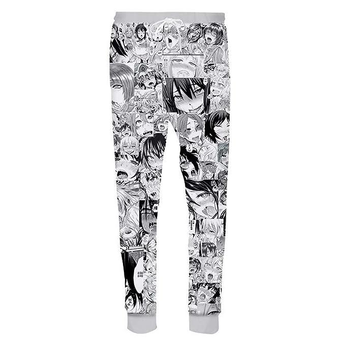Janpanse Animado Divertido Lindo 3D Pantalones Pantalones ...