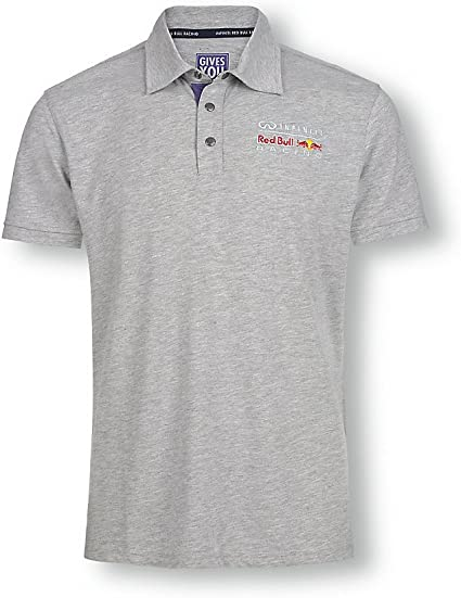 Red Bull Fan Collection Lifestyle Polo para Hombre, Gris, 38 (S ...