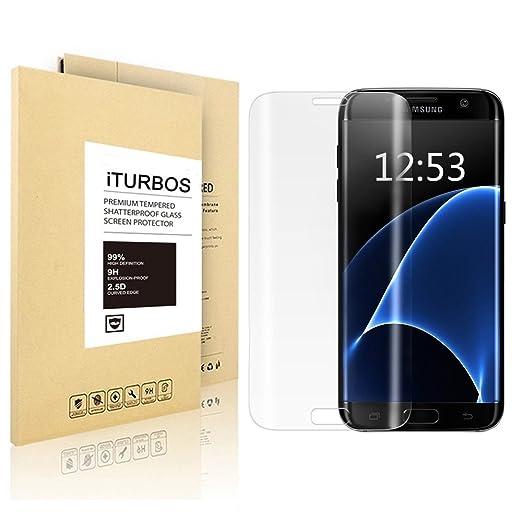 48 opinioni per Samsung Galaxy S6 edge Pellicola Protettiva , iTURBOS- 3D Toccare Compatibile