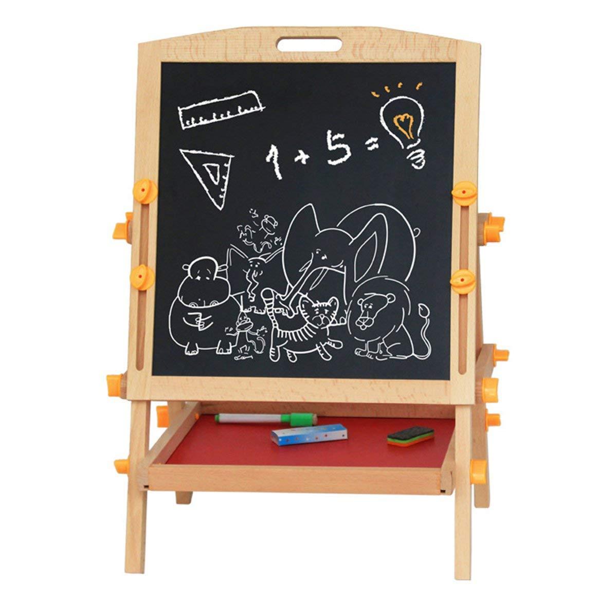 433b60b1e5ff Delicacydex Tablero de Dibujo Dibujo Dibujo magnético de Doble Cara para  niños Conjunto de Caballete cddc6f