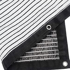 Takefuns - Sombrilla de tela, 90 % de sombra, borde sellado, para ...