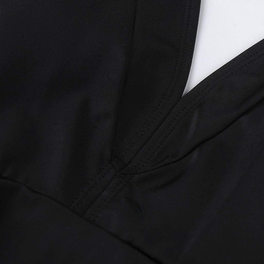 SHE.White Damen Neckholder Push up Badekleid Figurformender Einfarbig Badeanzug mit R/öckchen Bauchweg Einteiliger Badekleid Gro/ße Gr/ö/ße Strand Swimwear M-4XL