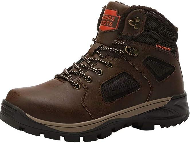 Chaudes Chaussures Hiver Impermeable Homme Randonnée Bottes Trekking Bottes de Snow de Neige Boots ZkuXOiP