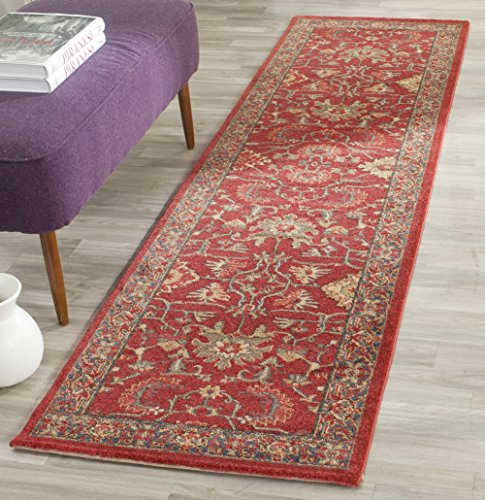 Safavieh Mahal Collection MAH693F Traditional Oriental Red and Navy Area Rug (2' 2