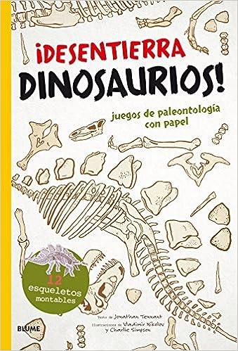 Desentierra Dinosaurios Juegos De Paleontologia Con Papel Amazon