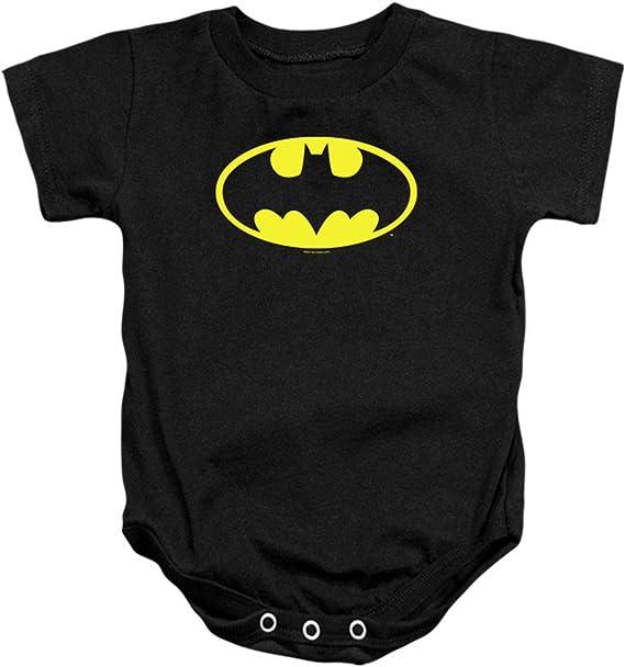 Batman Classic Logo Baby Onesie Bodysuit