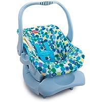 Joovy Doll Toy Car Seat - Blue Dot