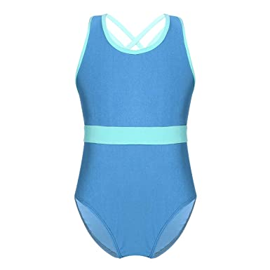iiniim Vêtements de Danse Femme Bébé Enfant Fille Justaucorps Danse  Classique Gymnastique Yoga Patinage Leotard Collant f616053f5cc