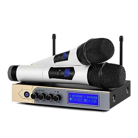 Micrófonos Inalámbricos Karaoke UHF casa
