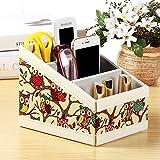 Shadow Box Coffee Table Makeup organizers Remote control storage box Cosmetic storage box Coffee table desk storage box-O