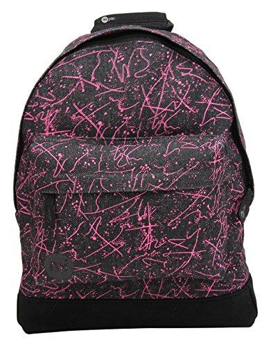 One Pink Mi Denim Squiggle Denim Squiggle Size Pac Rucksack Pac Mi Black wxqvOZH