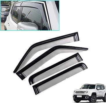 SPEEDLONG 4Pcs Car Window Visor Vent Shade Deflector Sun//Rain Guard for KIA Sportage 2011 2012 2013 2014 2015 2016