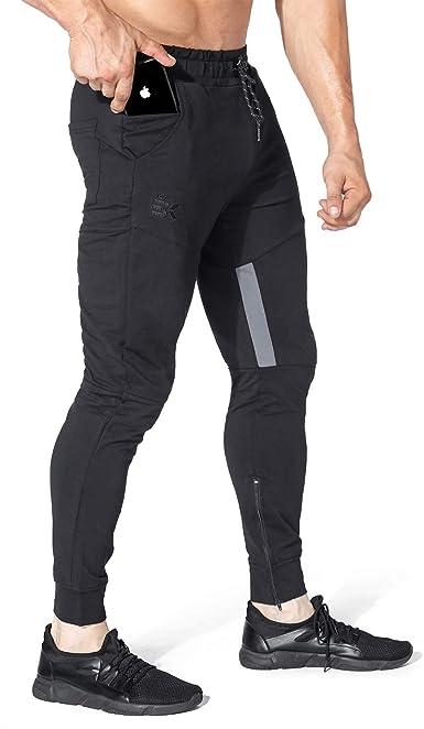 Men/'s Jogger Pants Sweatpants Track Sports Slim Fit Gym Trousers Jogging Bottoms