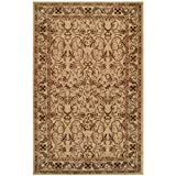 Superior Elegant Heritage Collection Area Rug, 10mm Pile Height with Jute Backing, Timeless and Beautiful Nature Design, Anti-Static, Water-Repellent Rugs - Ivory, 8' x 10' Rug