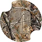 Thirstystone Realtree Car Cup Holder Coaster, Green, 2-Pack