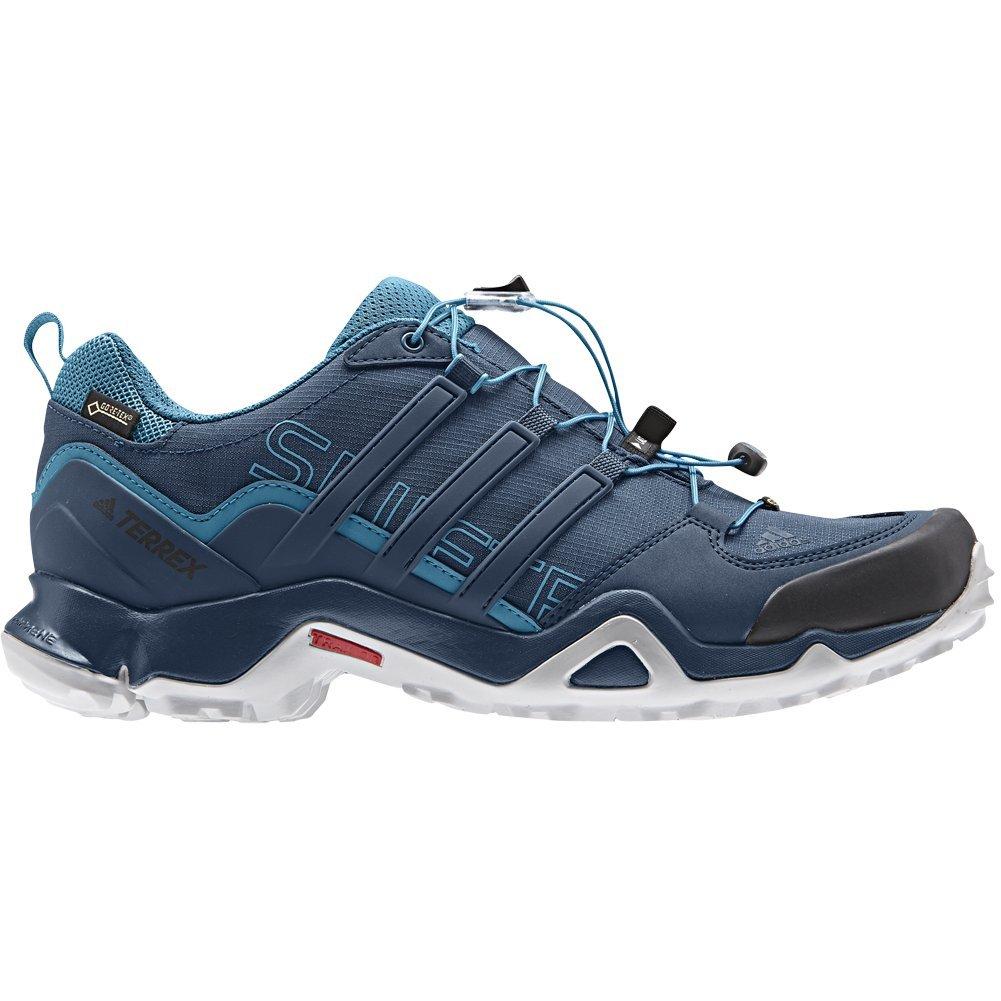 adidas outdoor Men's Terrex Swift R GTX Blue Night/Blue Night/Mystery Petrol Hiking Shoes - 7 D(M) US