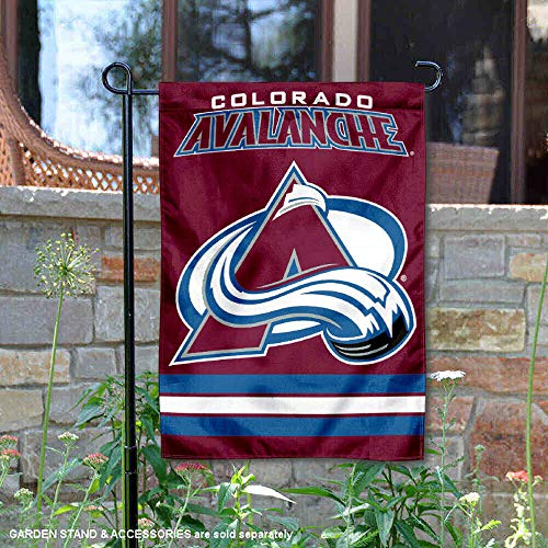 (Wincraft Colorado Avalanche Double Sided Garden Flag )