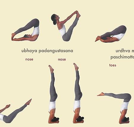 Workbook custom handwriting worksheets : Amazon.com: 112 Posture Yoga Chart - Astanga Vinyasa Primary ...